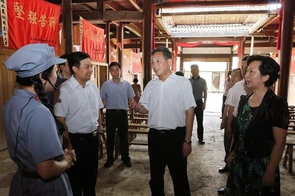 省委常委、宣传部长陈竣卿在我馆考察调研
