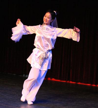 舞蹈《书苑情话》