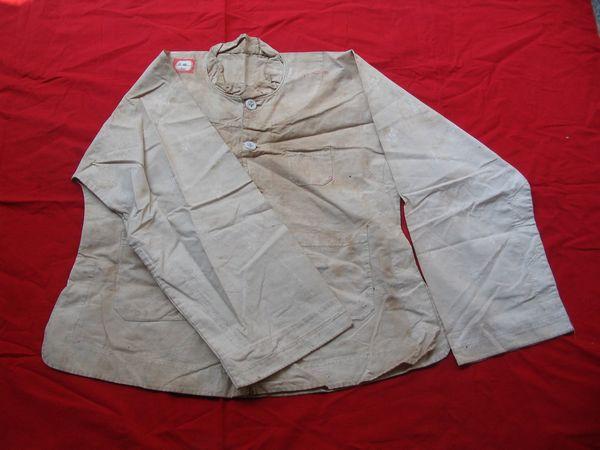 红军用过的衣服